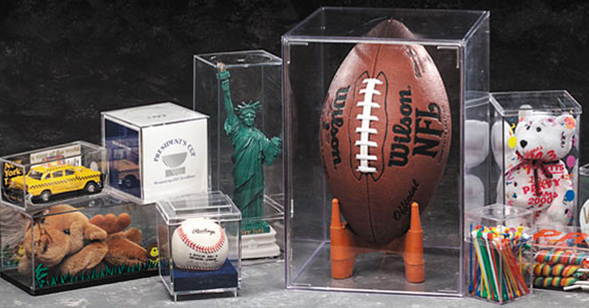 rigid plastic boxes for collectibles