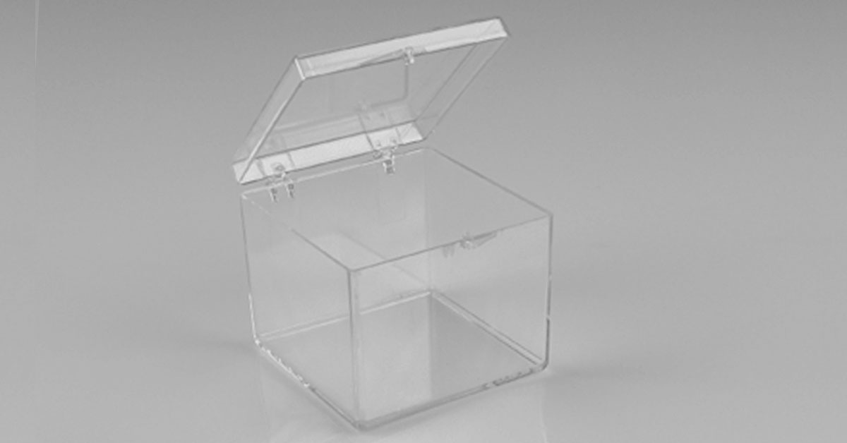 plastic boxes for labs optics and mirrors
