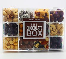 chocolate gift compartment box