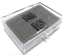 dice hinged box