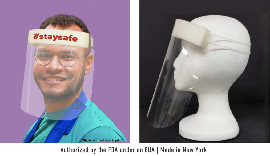 Personal Protective Face Shields: Covid-19 Barriers Made In The USA